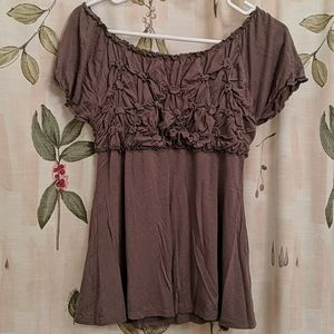 Crosby Olive Green Blouse Small